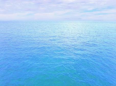 Sea / Ocean / Water / Blue / Blue / Aqua / Hawaii / Resort / Sky / Scenery / Background / Material Texture / Wallpaper / Image