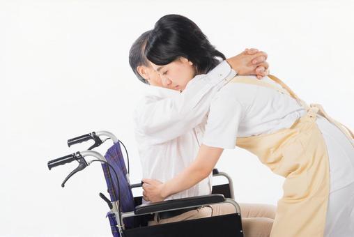 Nurse and wheelchair male 8