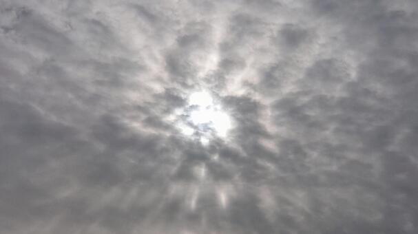 신비한 구름