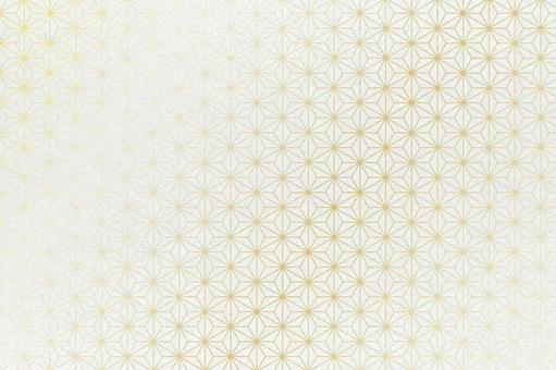 日本檸檬圖案日本紙 - 白色