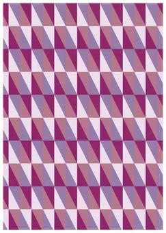 Geometric texture Rectangular purple