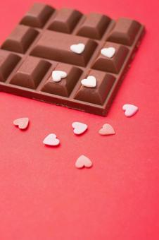 Red Background Chocolate 2
