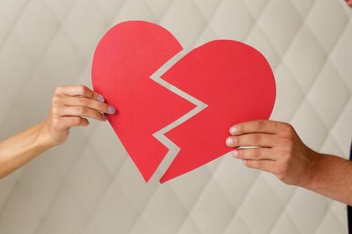 Couple leaving heart 7