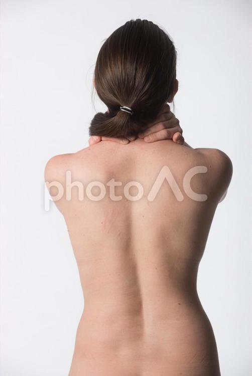 女性の背中14の写真