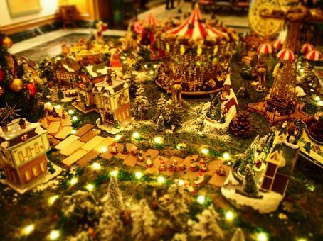 A small amusement park