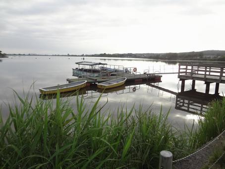 Nagashi boat landing