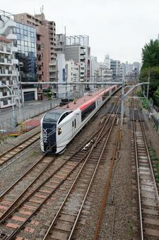 Train running on the track 4