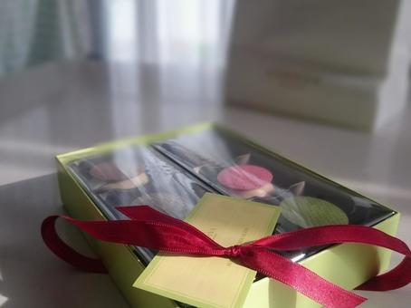 Inside of the gift box