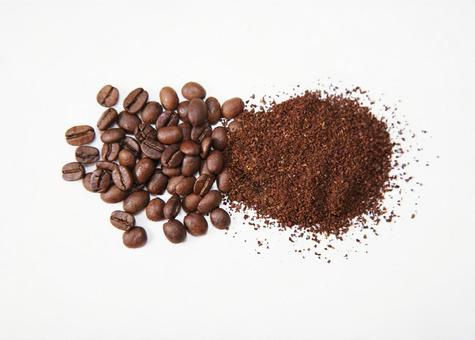 Coffee coffee (beans and flour)