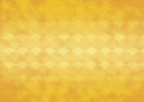 Gold foil 08