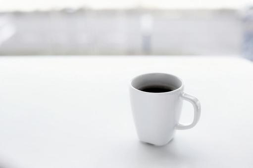 Hot breath with coffee