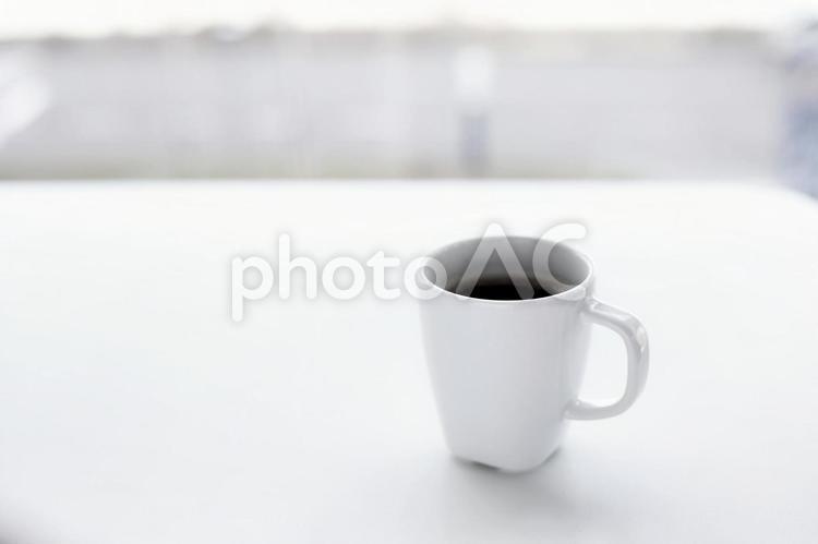 コーヒーでホット一息の写真