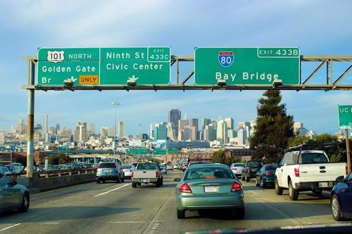 샌프란시스코의 고속도로