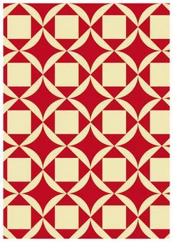 Geometric pattern texture Cloisonne Tie Braid