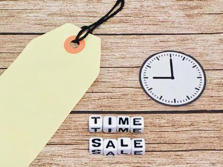 Time sale begins
