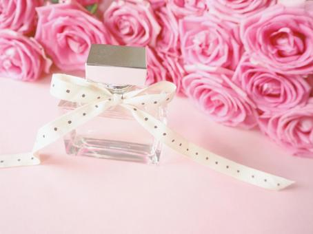 花香粉紅玫瑰