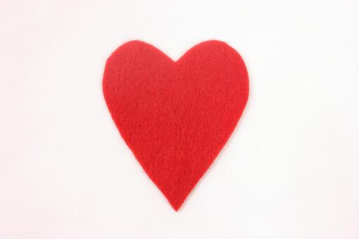 Heart made of felt 5