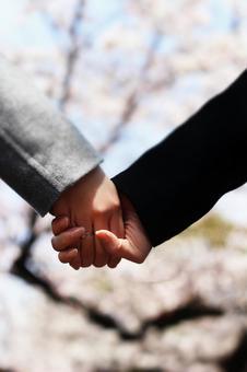 Couple hand 2 (portrait)
