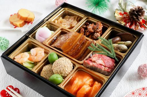 Chinese style New Year dishes