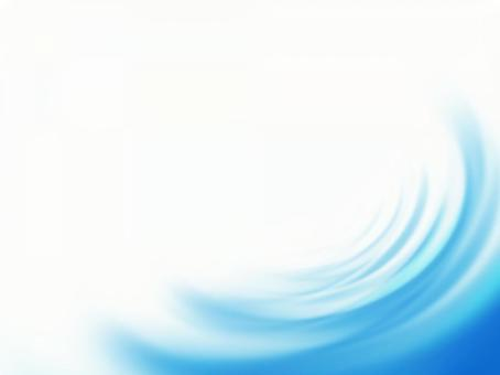 Wave frame background material