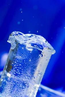 Glass mineral water _ 2