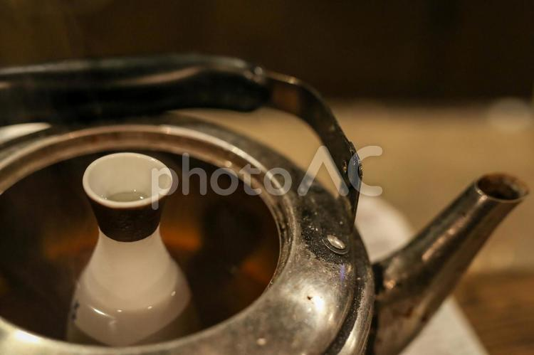 日本酒・燗酒1の写真