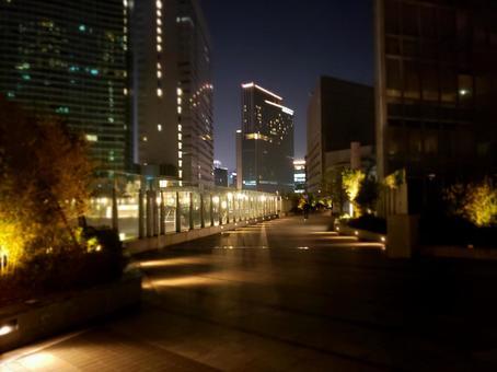 Tokyo night, around Shiodome