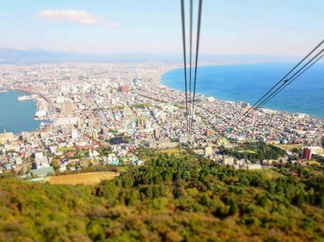 View of Hakodateyama Ropeway