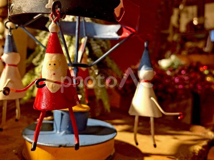 サンタのおもちゃの写真