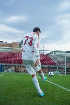 Soccer kick 28