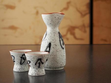 Sake Inoguchi and sake bottle