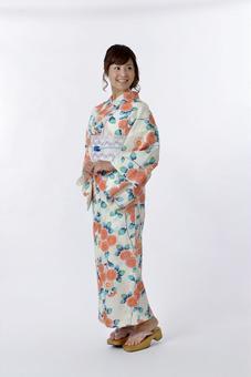 Yukata beautiful woman 1