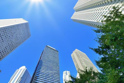 Shinjuku business district