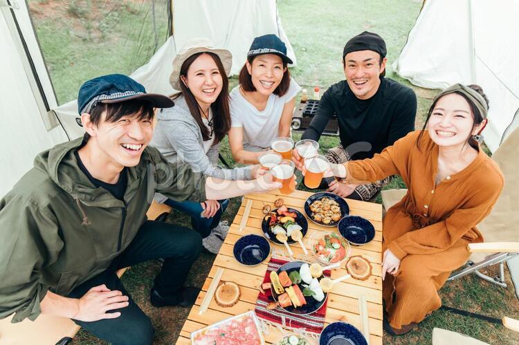 バーベキュー/キャンプの写真