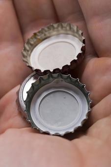 Crown of bottled beer 5