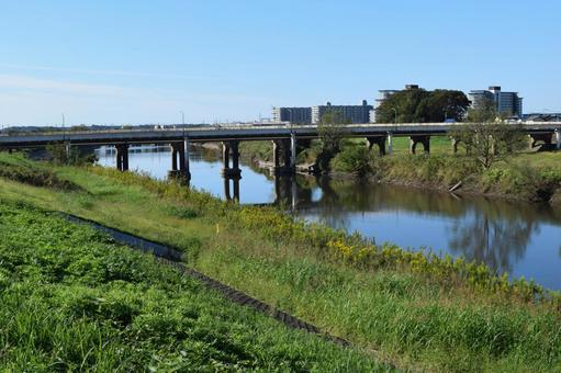 Kokai River Southern Ibaraki Prefecture