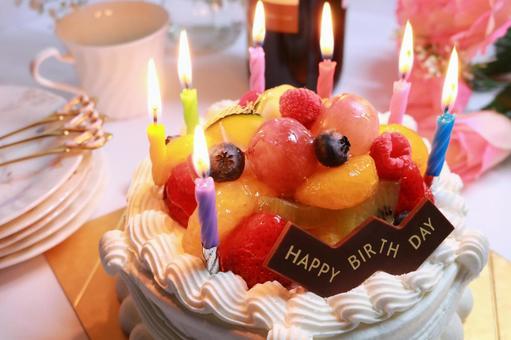 Birthday cake birthday cake fruit cake fruit