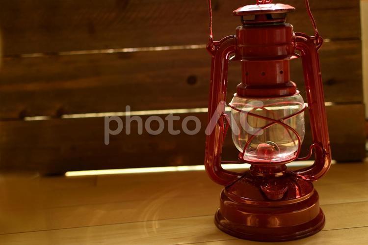 灯油ランタンの写真