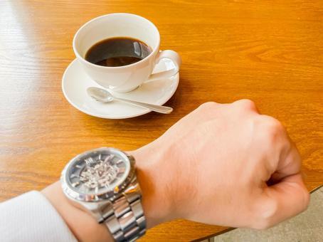 Coffee / time / clock