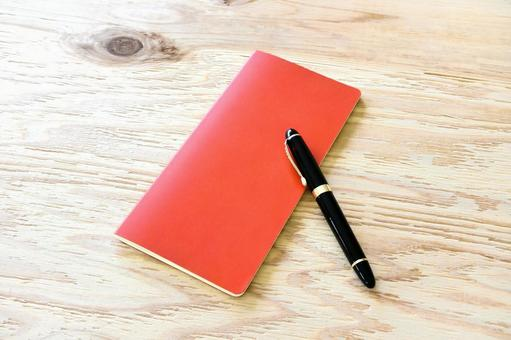 Favorite vertical notebook