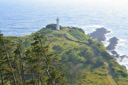 오키섬 那久岬
