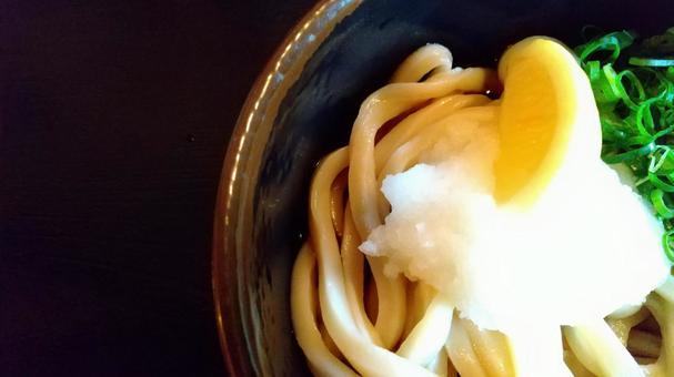 Sanuki udon bukkake udon chill