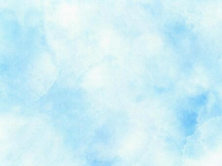 Soft light blue watercolor background