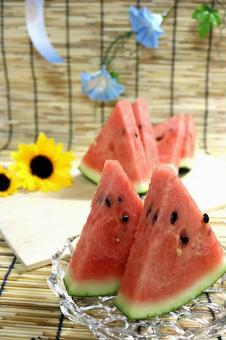 Japanese summer watermelon watermelon