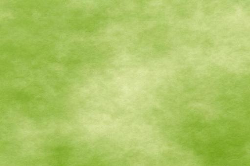 Washi Satoke cloudy goosewa texture 46 (yellow green melon Wakakusa)
