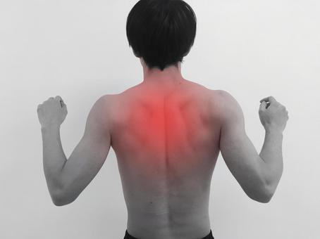 Stiff shoulders / back muscles
