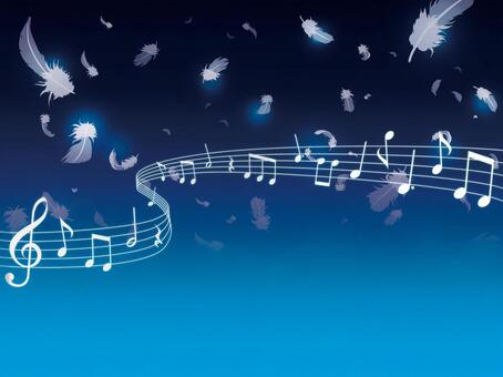 The feather falling holy night music 01