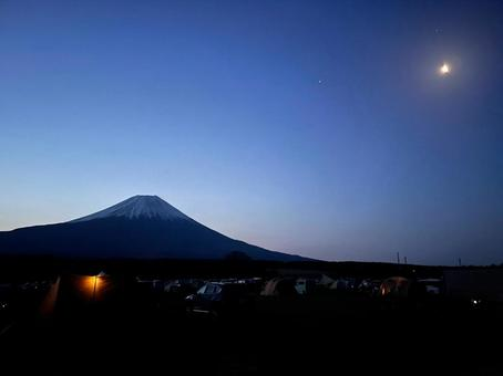 Fumotoppara night sky