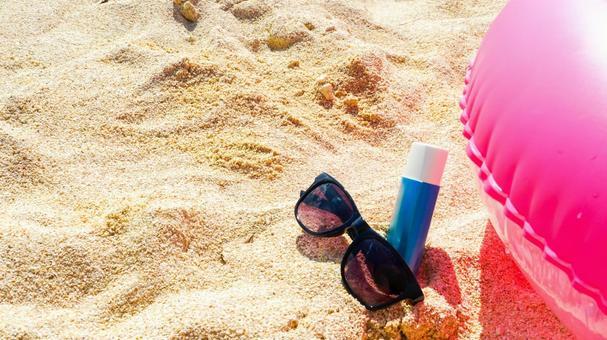 UV image tan image summer material