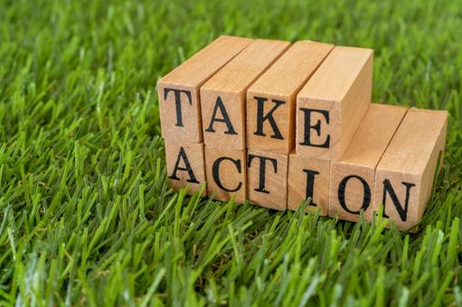 """Take action 